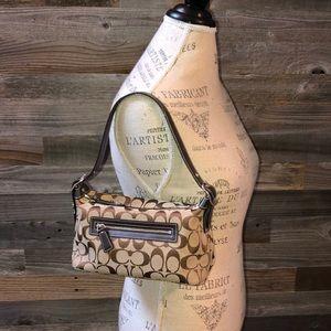 Coach Fabric Signature C Small Handbag